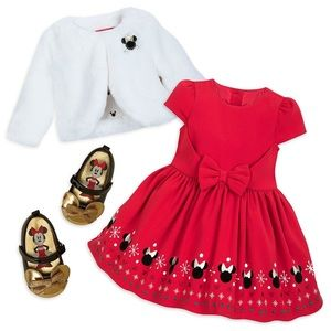 Disney Christmas outfit 12-18mths.